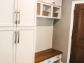 White Painted Maple Cabinets