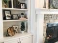Fireplace Makeover Shelf