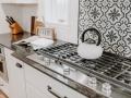 Rustic Kitchen Cooktop