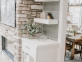 Rustic Fireplace Built-ins